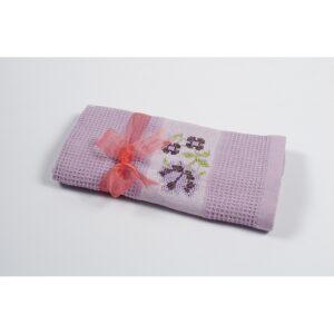 купить Полотенце кухонное Lotus Life - Лиловый Лиловый фото