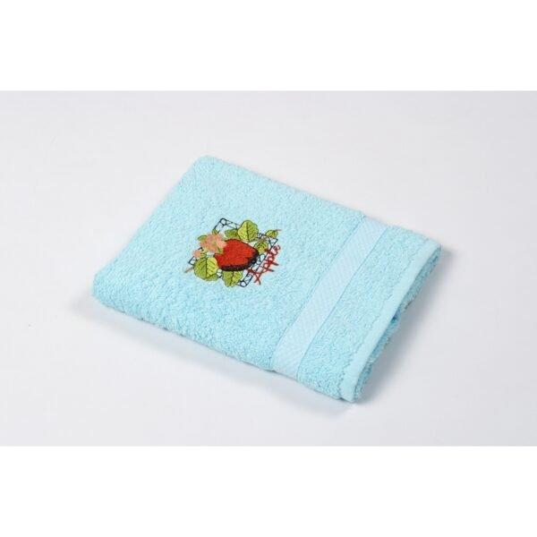 купить Полотенце кухонное Lotus Sun - Apple голубой Голубой фото