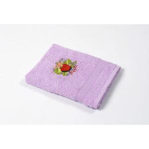 купить Полотенце кухонное Lotus Sun - Apple лиловый Лиловый фото