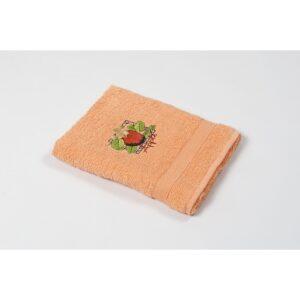 купить Полотенце кухонное Lotus Sun - Apple оранжевый Оранжевый фото