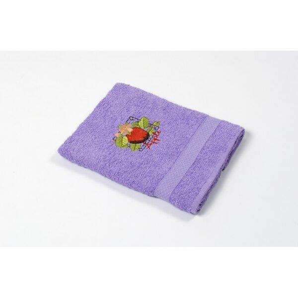 купить Полотенце кухонное Lotus Sun - Apple сиреневый Сиреневый фото