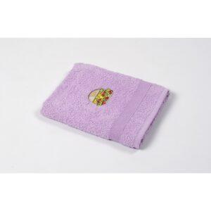 купить Полотенце кухонное Lotus Sun - Burger лиловый Лиловый фото
