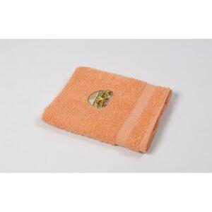 купить Полотенце кухонное Lotus Sun - Burger оранжевый Оранжевый фото