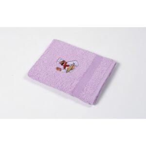купить Полотенце кухонное Lotus Sun - Chief лиловый Лиловый фото