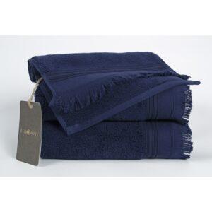 купить Полотенце махровое Buldans - Almeria lacivert Синий фото