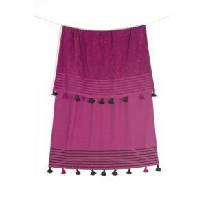 купить Полотенце махровое Buldans - Capri begonvil Фиолетовый фото