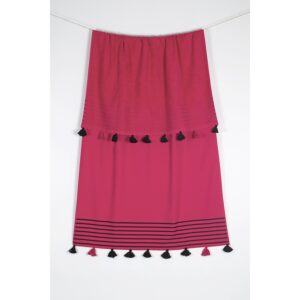 купить Полотенце махровое Buldans - Capri fusya Розовый фото