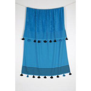 купить Полотенце махровое Buldans - Capri mavi Голубой фото
