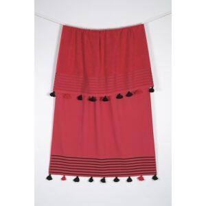 купить Полотенце махровое Buldans - Capri mercan Красный фото
