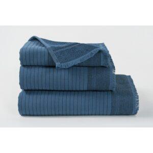 купить Полотенце махровое Buldans - Simba indigo синий Синий фото