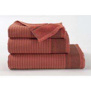 купить Полотенце махровое Buldans - Simba kiremit красный Красный фото