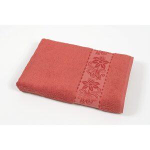 купить Полотенце махровое Cestepe - Organic Bamboo красный Красный фото