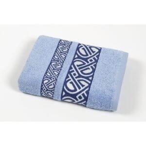 купить Полотенце махровое Cestepe - Vakko cotton голубой Голубой фото