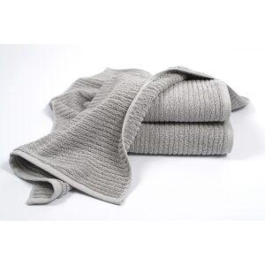купить Полотенце махровое Penelope - Nora grey Серый фото