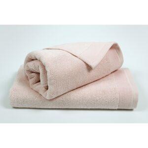 купить Полотенце махровое Penelope - Prina pink розовый Розовый фото