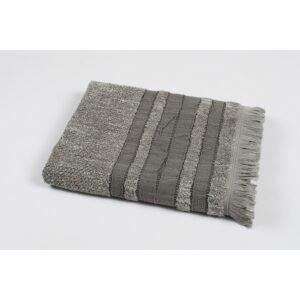 купить Полотенце махровое Pupila - Skin gri Серый фото