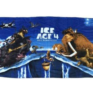 купить Полотенце пляжное Vende велюр Ice Age 4 Voll Verschoben 75*150 Синий фото
