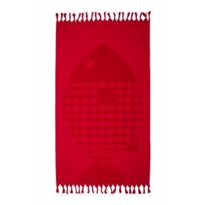купить Полотенце Barine - Fish Red красный Красный фото