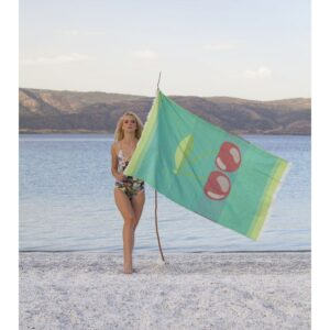 купить Полотенце Barine Pestemal - Cherry Зелёный фото