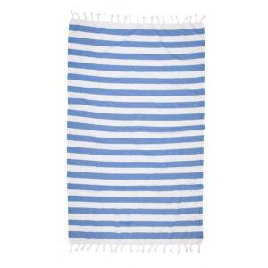 купить Полотенце Barine Pestemal - Deck blue Голубой фото