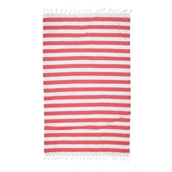 купить Полотенце Barine Pestemal - Deck red Красный фото