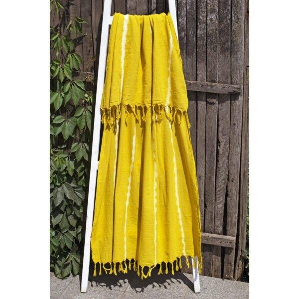купить Полотенце Barine Pestemal - Flash Mustard Желтый фото