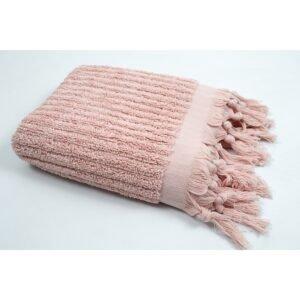 купить Полотенце Barine - Rib pale blush розовый Розовый фото