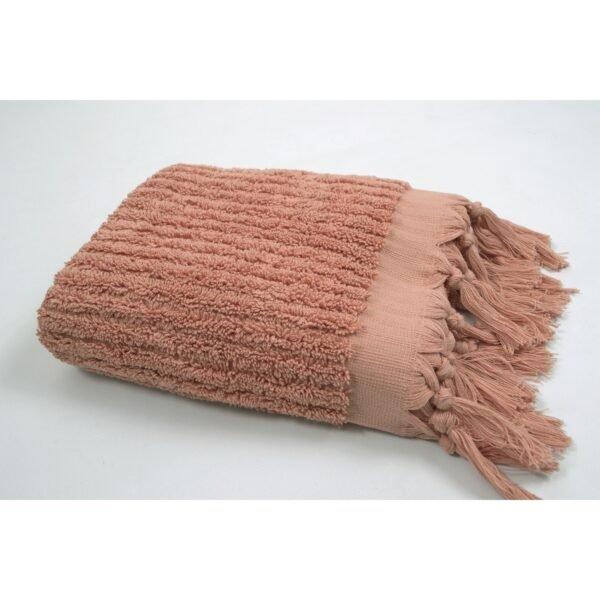 купить Полотенце Barine - Rib shrimp розовый Розовый фото