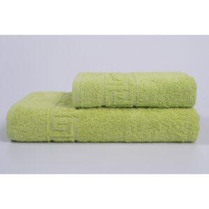 купить Полотенце Iris Home - Бордюр apfelgrun зелёный Зелёный фото