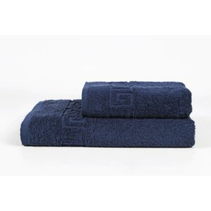 купить Полотенце Iris Home - Бордюр lacivert Синий фото