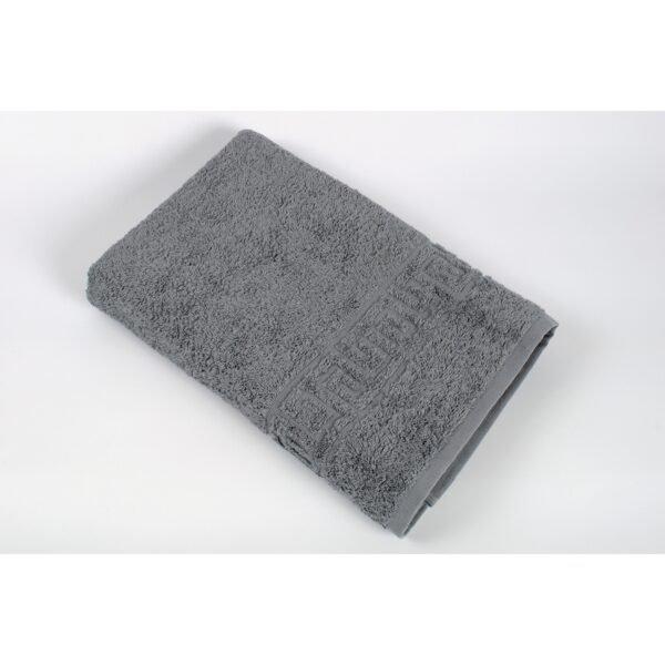 купить Полотенце Iris Home - Бордюр orta gri серый Серый фото