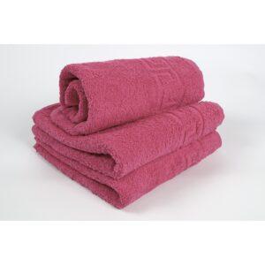 купить Полотенце Iris Home - Бордюр raspberry sorbet Розовый фото
