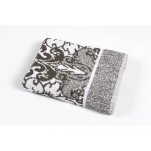 купить Полотенце Iris Home - Odeon black Серый фото