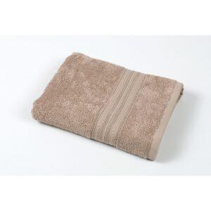 купить Полотенце Iris Home - Stitch brown Коричневый фото