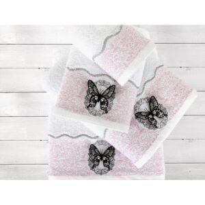 купить Полотенце Irya Jakarli - New Mira pembe розовый Розовый фото