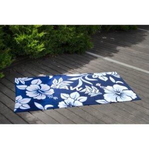 купить Полотенце Lotus пляжное - Hawaii велюр Синий фото
