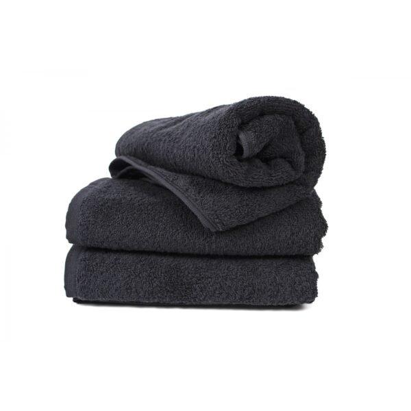 купить Полотенце Lotus Black - 400 черный Черный фото