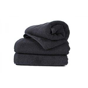 купить Полотенце Lotus Black - 500 черный Черный фото