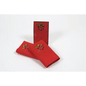 купить Полотенце Lotus - New Year 218 Красный фото