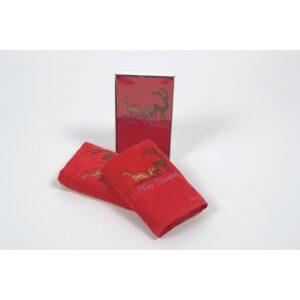 купить Полотенце Lotus - New Year 219 Красный фото