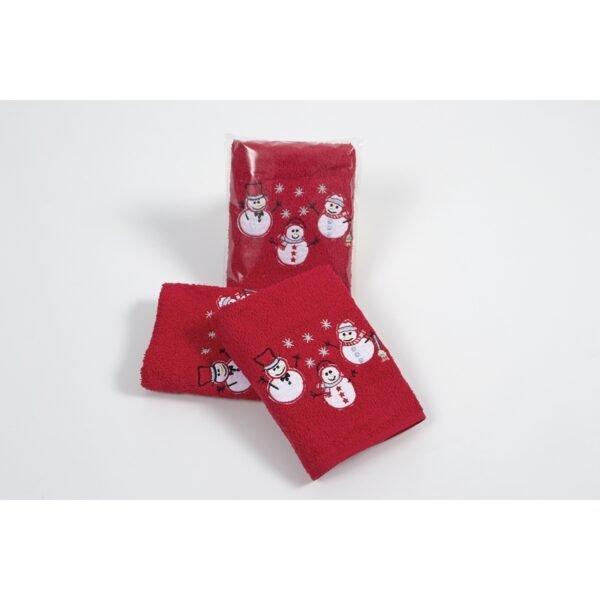 купить Полотенце Lotus - New Year 303 Красный фото