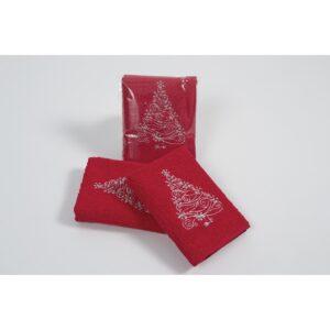купить Полотенце Lotus - New Year 304 Красный фото