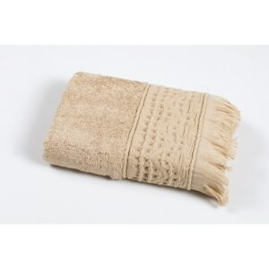 купить Полотенце Oliva Home Bamboo - Alacati bej Бежевый фото