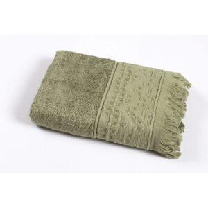 купить Полотенце Oliva Home Bamboo - Alacati khaki Зелёный фото