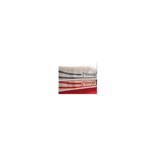 купить Полотенце Shamrock - Fitness Бело-Красный фото