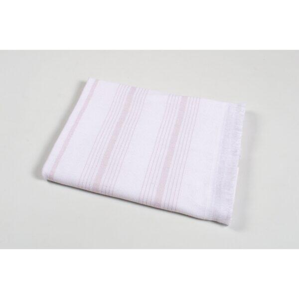 купить Полотенце TAC Pestemal North - Pudra Розовый фото