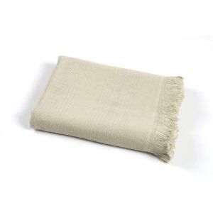 купить Полотенце TAC Pestemal Silver - Cakil Бежевый фото
