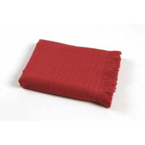 купить Полотенце TAC Pestemal Silver - Kirmizi Красный фото