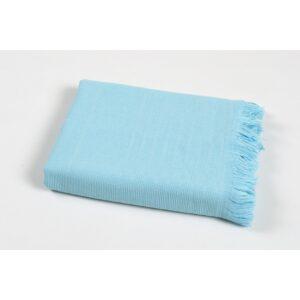 купить Полотенце TAC Pestemal Silver - Turkuaz Голубой фото