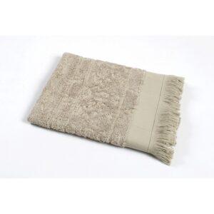 купить Полотенце TAC Royal Bamboo Jacquard - Cakil Бежевый фото